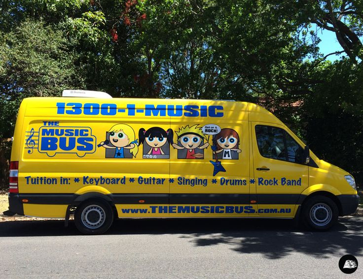 Mobile Music Tuition, Full Vehicle Wrap