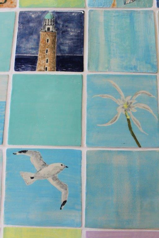 Tiles by Aline D