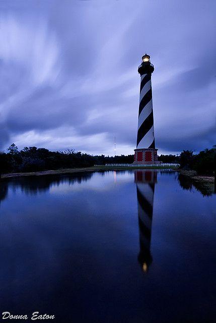 Cape Hatteras Lighthouse, North Carolina, USA. Where I'm headed today!