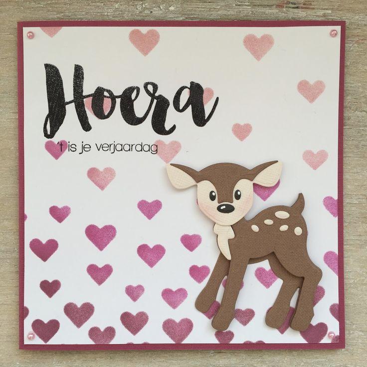 LindaCrea: Olifant & Hertje - 't Is je Verjaardag