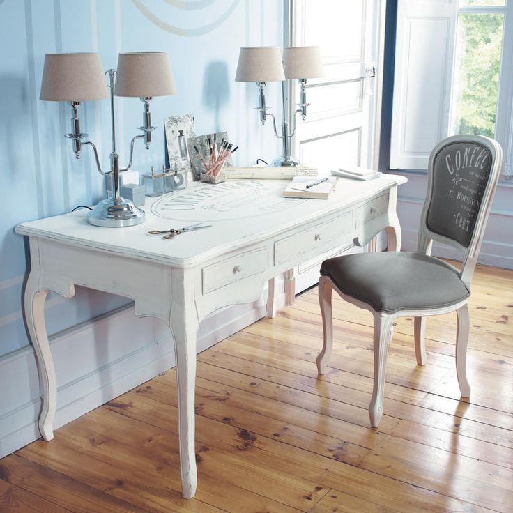 scrivania confection maison du monde un posto accogliente pinte. Black Bedroom Furniture Sets. Home Design Ideas