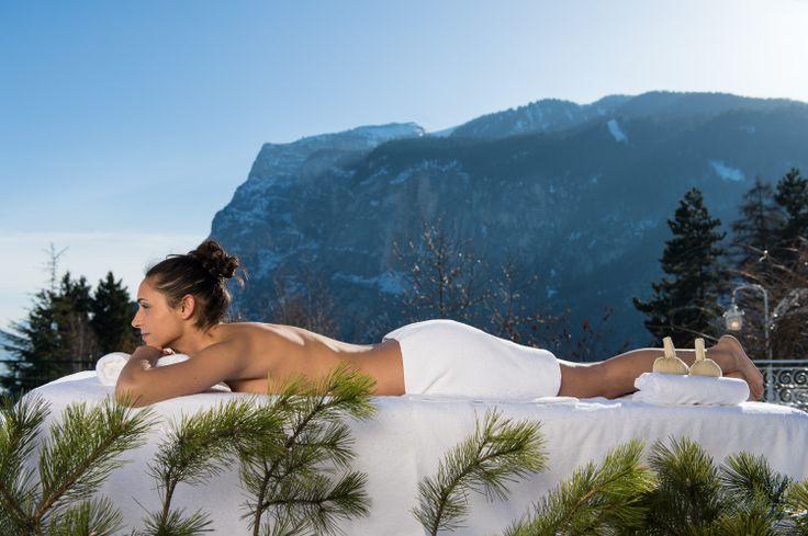 Eine #Massage im #Sporthotel #Panorama . Mehr Informationen auf http://www.selectedhotels.com/de/hotel/alp-wellness-sport-hotel-panorama