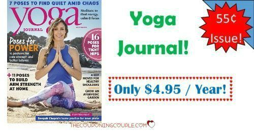 HOT Magazine Deal! Yoga Journal Magazine is only $4.95/year! What a great way to work on getting your physical and spirit well-being in order! I love all the lifestyle ideas and tips!  Click the link below to get all of the details ► http://www.thecouponingcouple.com/yoga-journal-magazine-only-4-99year-today-only/ #Coupons #Couponing #CouponCommunity  Visit us at http://www.thecouponingcouple.com for more great posts!