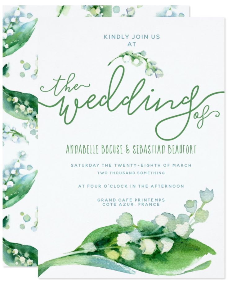 29 best Lily Of The Valley Wedding images on Pinterest | Lily of the ...