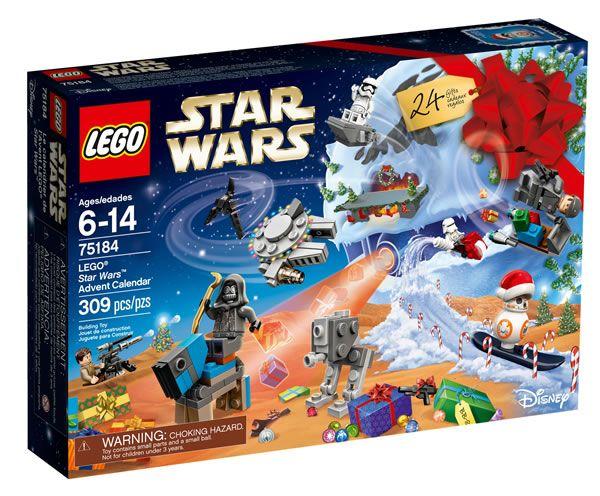 Calendrier de l'Avent LEGO Star Wars 2017 : baisse du prix public: C'est tellement rare que ça vaut le coup d'être signalé : Le prix… #LEGO