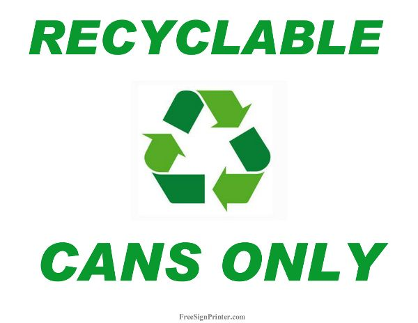 8 best Recycle Signs images on Pinterest Printable, Printing and - free for sale signs for cars