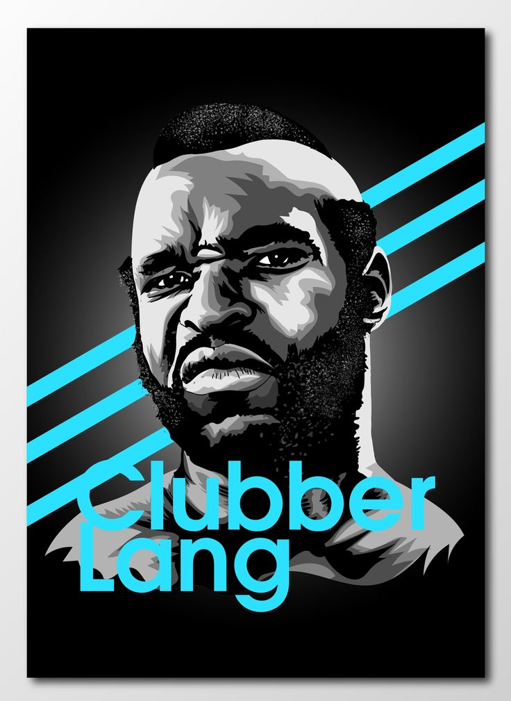 #project366 an #illustration a day continues with The Southside Slugger... Clubber Lang!   #rocky #clubberlang #southsideslugger #newart #design #designer #graphicdesign #graphics #sketch #sketchbook #portrait #popculture #mrt #boxing #film #retroart #classicfilm #80s #heavyweight #rocky3