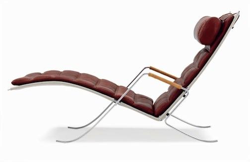 FK87 Grasshopper Chair. Designed in 1968 by Fabricius/Kastholm, Denmark.