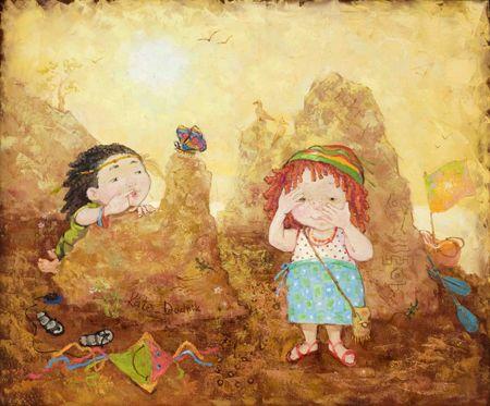 Касание детства. Художница Екатерина Дудник