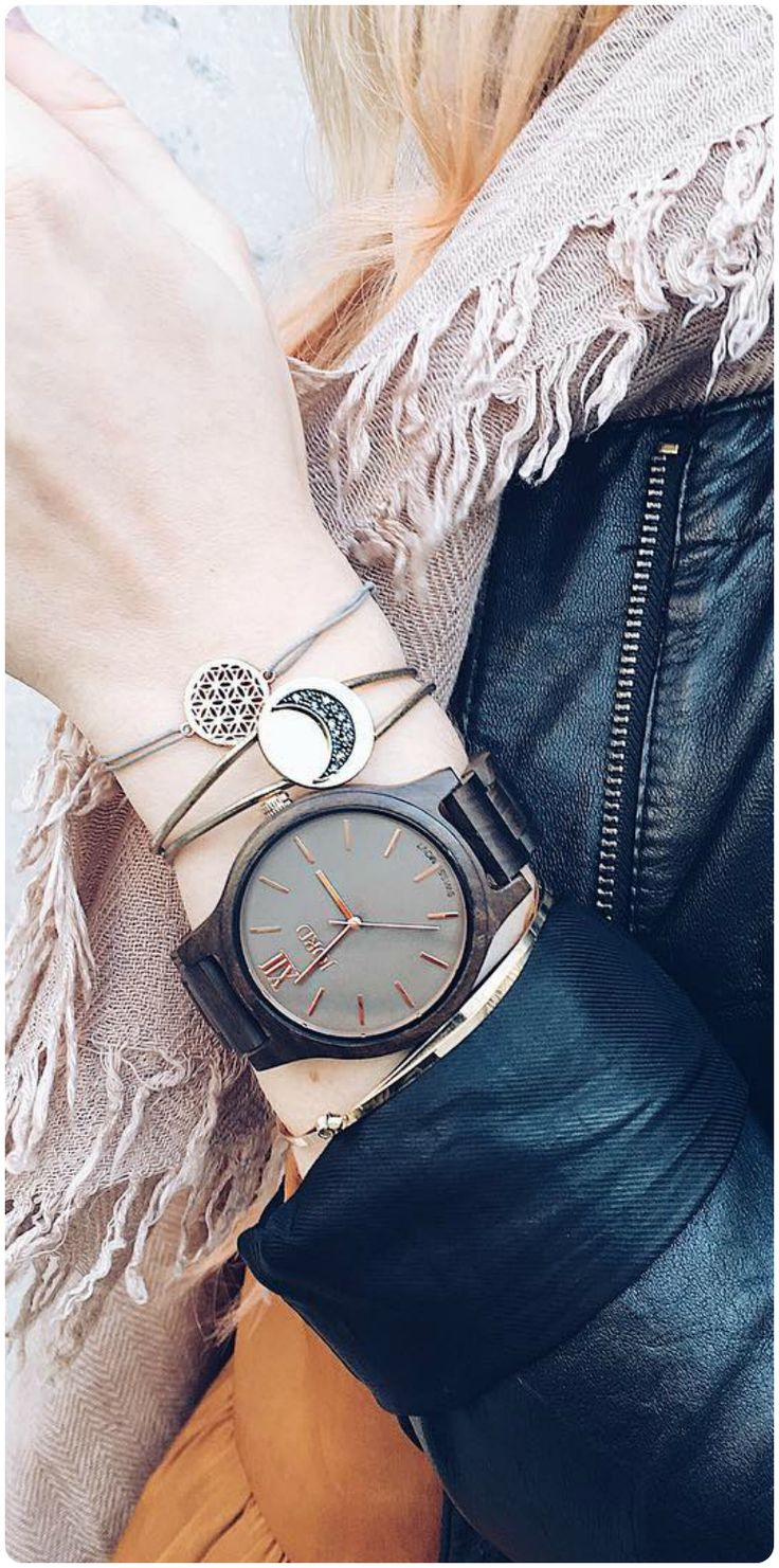Serious arm party goals from @tinevankempen of IG | Find your JORD at woodwatches.com, shipping worldwide with free shipping in the U.S.!