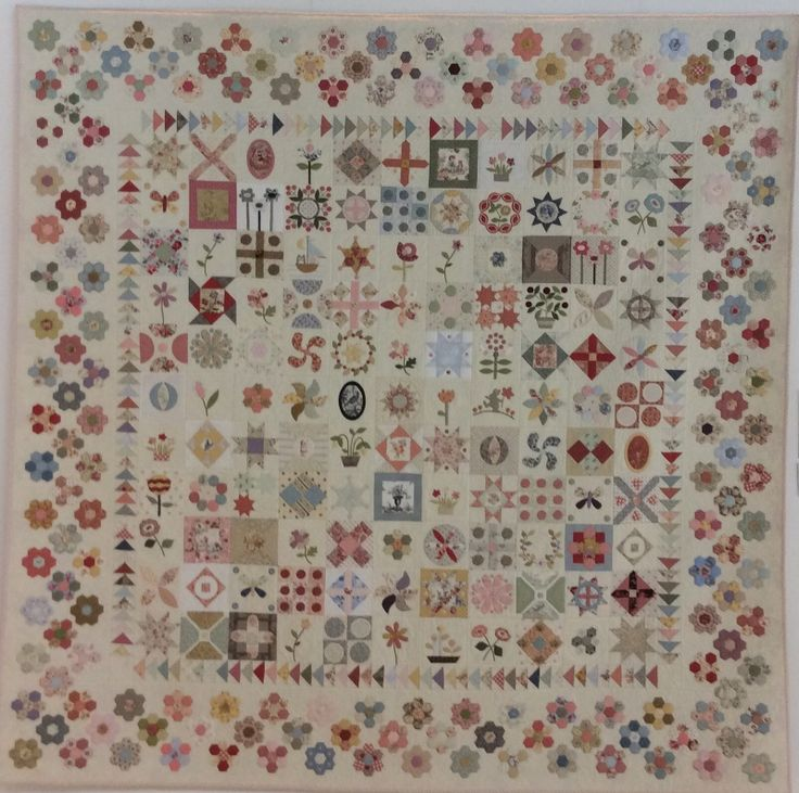 Stonefields Quilt ENG | Patchwork / Applicatie | Petra Prins Patchwork