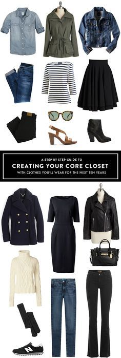 Creating your Core Closet, How to Build a Wardrobe