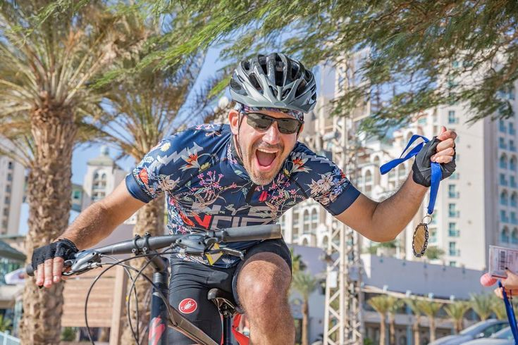 Going for the gold!  #achievement  Registration for the 2018 Israel Ride increases $100 January 1. Dont wait!      #hazon #israel #israelride #jerusalem #eilat #negev #desert #holyland #peopleofthebike #rideyourbike #biking #cycling #cyclist #tandem #photography #travel #nature #outdoors #arava #aravainstitute #green #gogreen #ecofriendly #sustainability #cleanenergy #environment #healthyliving #healthandwellness