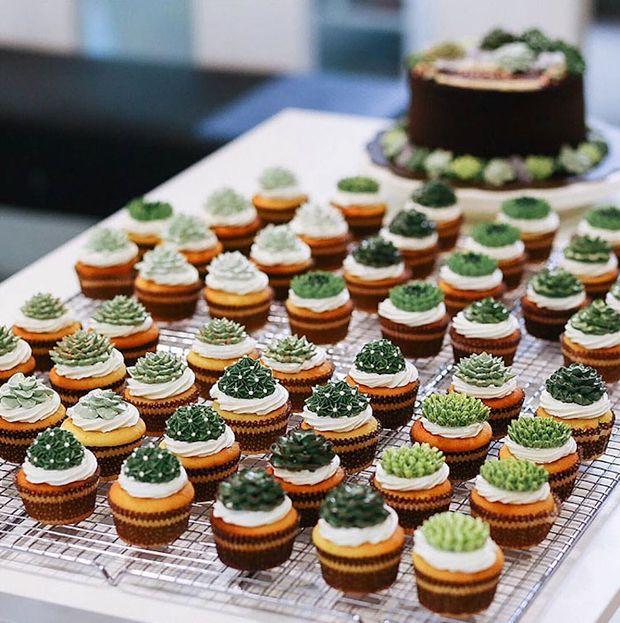 Terrários... de açúcar! Confeiteira da Indonésia faz sucesso com bolos inspirados em suculentas - Follow the Colours