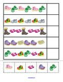 Thema schoenen voor kleuters / Shoes Theme Activities for Preschool PreK and Kindergarten