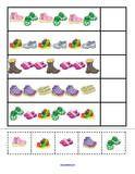 Thema schoenen voor kleuters / Shoes Theme Activities for Preschool PreK and Kindergarten