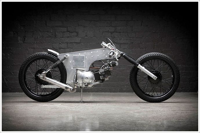 "Andy Copeland's Honda CT110 - ""ExpressPost"" - Pipeburn - Purveyors of Classic Motorcycles, Cafe Racers & Custom motorbikes"