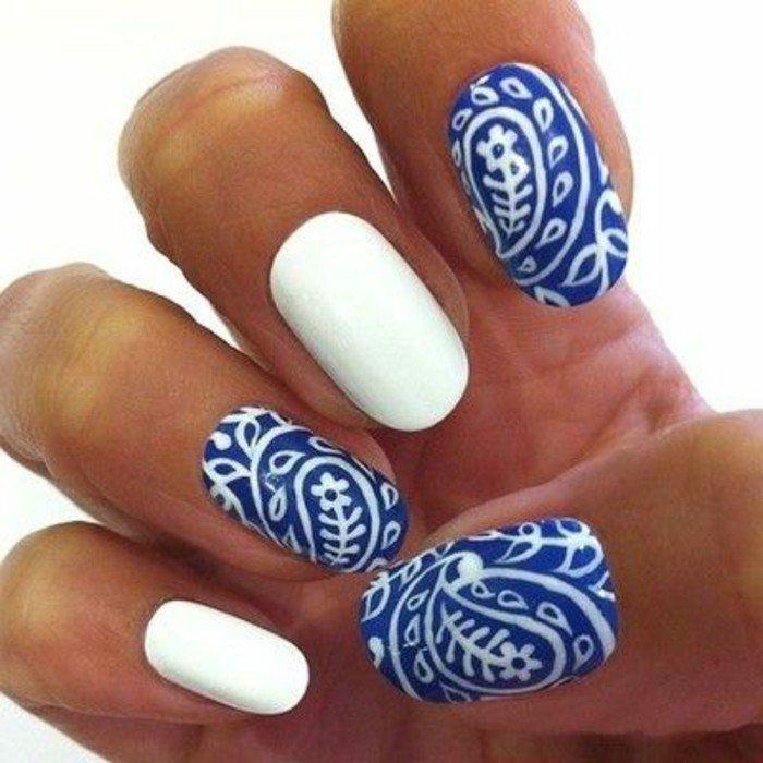 faux ongles couleur   ongles-décorés-idee-deco-ongle-colorées-faux-ongle-modele-ongle-gel ...