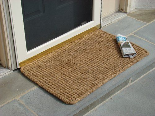 Rectangle Dragon Coco Coir Doormat By William F Kempf