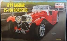 Minicraft 1939 Jaguar SS-100 Roadster 11216 1/16 New Plastic Model Kit