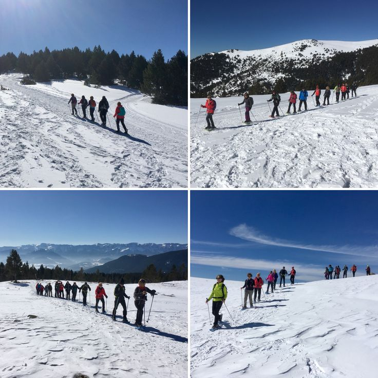 Gaudint de la neu i de la marxa nòrdica a La Cerdanya. www.nordicwalking-girona.com