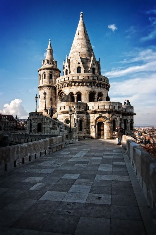 Fisherman's Bastion in Budapest -- we'll visit again this summer.