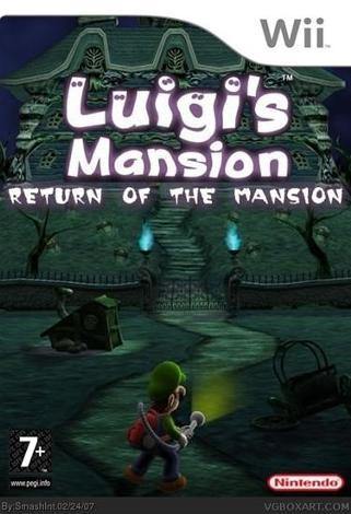luigi's mansion wii/2