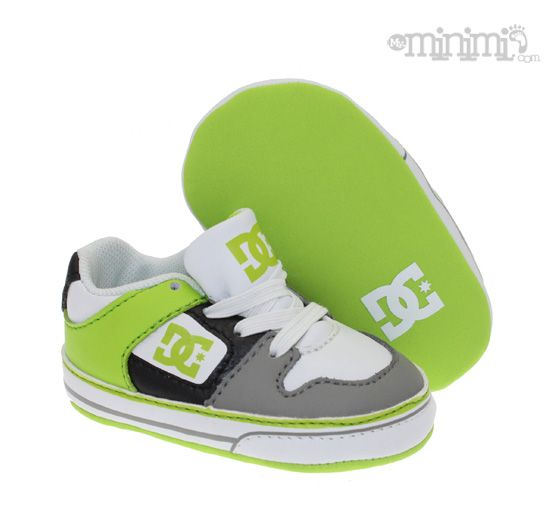 DC Shoes Pure Softy - chaussons pour bébé !  #swagg #baby #DC