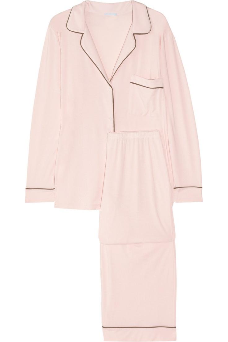Eberjey Gisele stretch-jersey pajama set NET-A-PORTER.COM