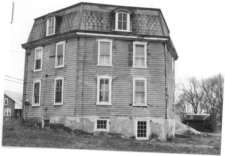 """This one is southwest PA has an interesting """"fish Scale"""" shingle pattern on the mansard style roof. The Octagon Mode is a distinctive and remarkable yet relatively rare architectural style, which enjoyed a brief period of popularity primarily in the years from 1850 until 1870."""