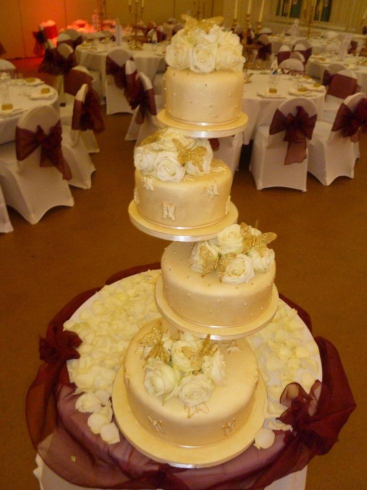 14 best wedding_cake_stuff images on Pinterest   Cake wedding ...