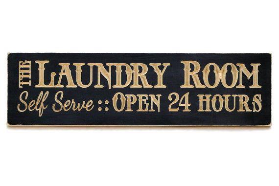 The Laundry room, Laundry Sign, Laundry Room Decor, wall hanging, Laundry Room Sign/Laundry Room Humor, home decor.