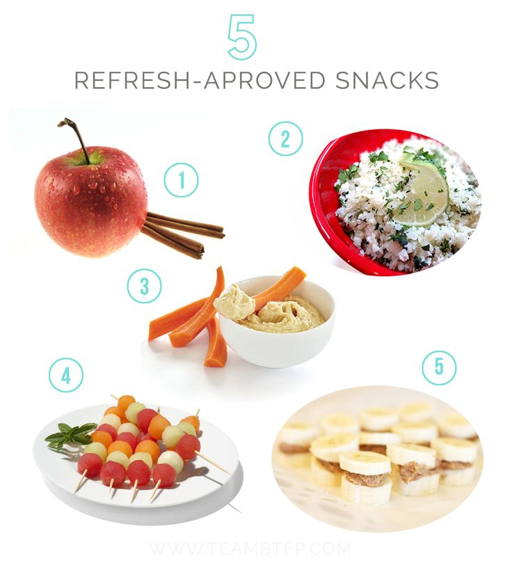 5 Snacks You Can Eat on the 3 Day Refresh!