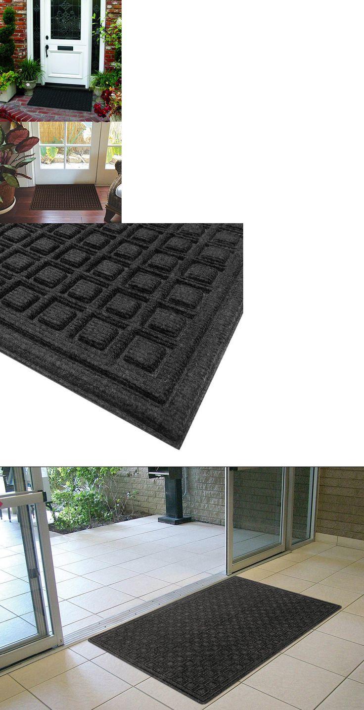 Door Mats and Floor Mats 20573: Textures Blocks Entrance Door Mat, 2-Feet By 3-Feet, Onyx -> BUY IT NOW ONLY: $33 on eBay!