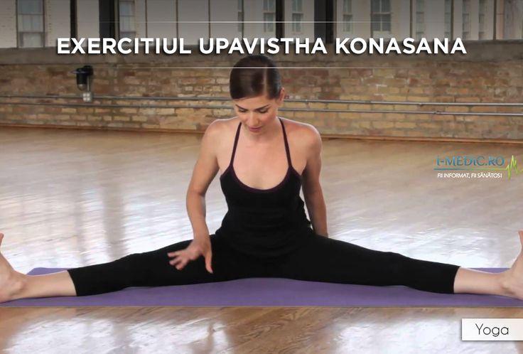 Avantajele Posturii Upavistha Konasana - Este benefica femeilor insarcinate sau celor aflate in perioada de menstruatie. - Creste gradul de flexibilitate la nivelul soldurilor. - Constituie un exercitiu de stretching eficient pentru tendoane, fapt ce amelioreaza manifestarile asociate sciaticii. http://www.i-medic.ro/exercitii/yoga/exercitiul-upavistha-konasana
