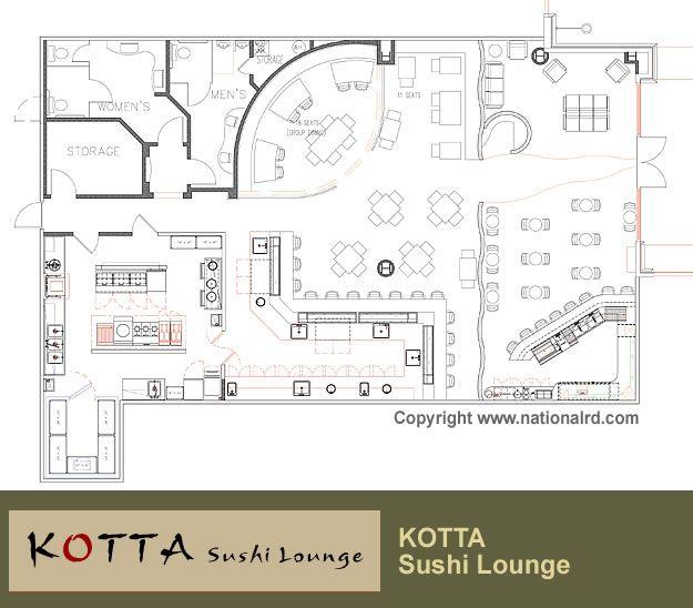 Restaurant Floor Plan Design
