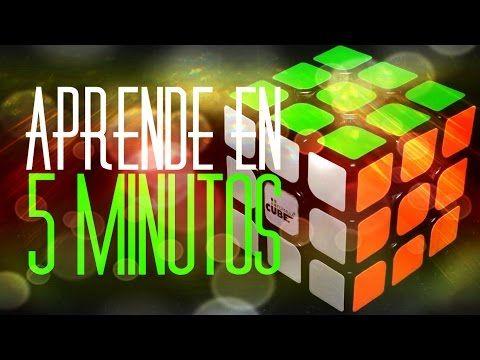 Como resolver o armar el cubo de rubik en un solo paso sencillo - YouTube