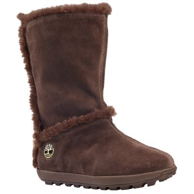 Timberland Women's Mukluk Pull-On Boots Brown Suede