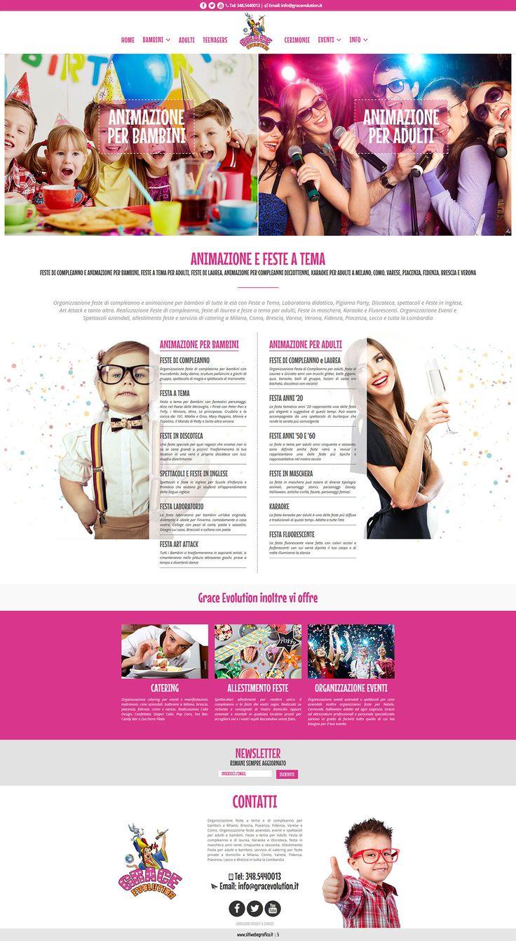 http://www.gracevolution.it | Animazione per bambini e adulti a milano, brescia, varese, piacenza, fidenza e lecco. Feste a tema, feste di compleanno e dilaurea, feste in maschera e karaoke. http://www.gracevolution.it