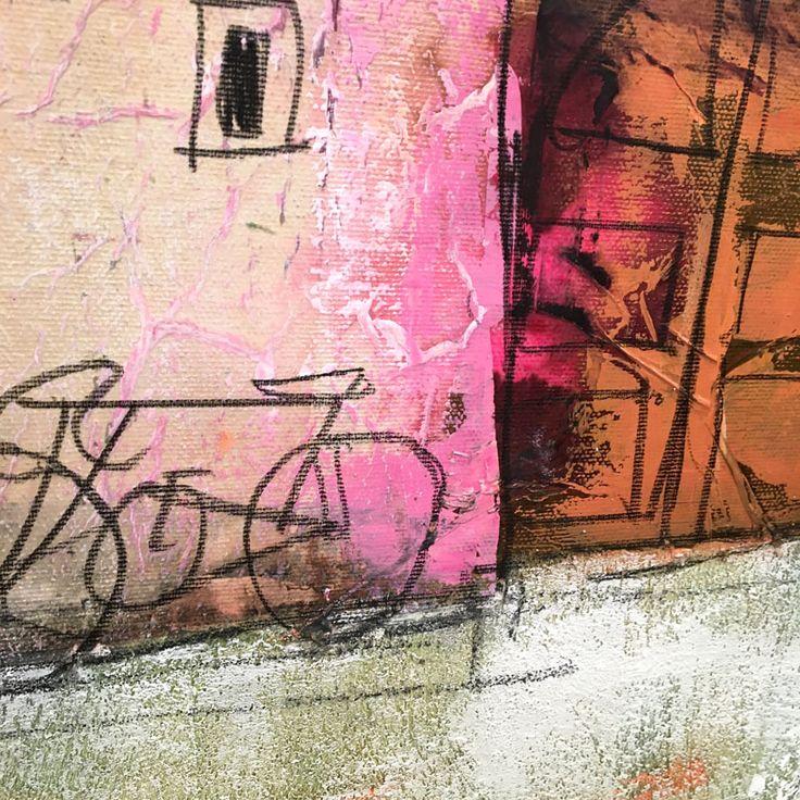 Particolare del dipinto del pittore Paolo Fumagalli di Firenze