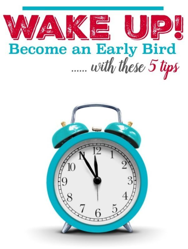 If you hit the snooze button every morning, but you need to be getting up early, you might benefit from these wise tips on becoming an Early Bird. It's not as painful as you might think! Start by avoiding your computer and devices before you go to bed to allow your mind to unwind. Make sure you're warm; you get better quality sleep and find it easier to wake up if you're warm and cozy. Set your alarm clock and leave it on the other side of the room. Read on for more tips from eBay.
