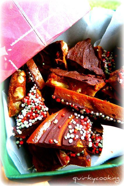 Quirky Cooking: Rapadura-Maple Syrup Butter Toffee