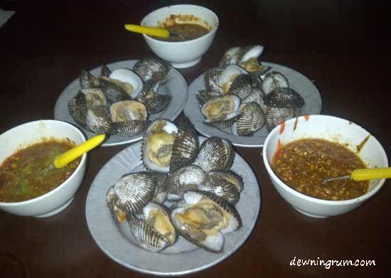 Kerang Rebus Sambel Nanas Kacang #Kuliner #Citarasa #Medan #Indonesia