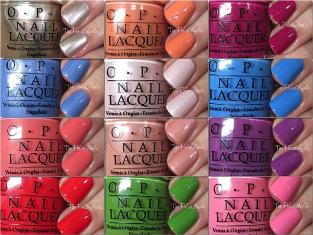 OPI Spring 2016 New Orleans Collection Swatches & Review | The PolishAholic | Bloglovin'