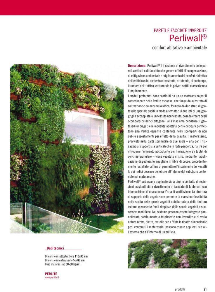 Perliwall - vertical green