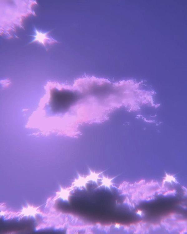 Aesthetic Purple Sky Sky Aesthetic Aesthetic Painting Black Aesthetic Wallpaper