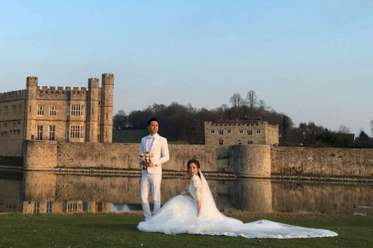 HONG KONG • TVB actress Tavia Yeung and actor Him Law returned to Hong Kong as man and wife yesterday, after quietly marrying in Leeds Castle in England last Tuesday, said Apple Daily.. Read more at straitstimes.com.