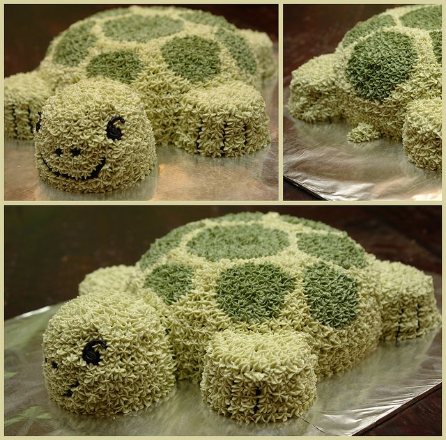 Turtle Cake...edible cute
