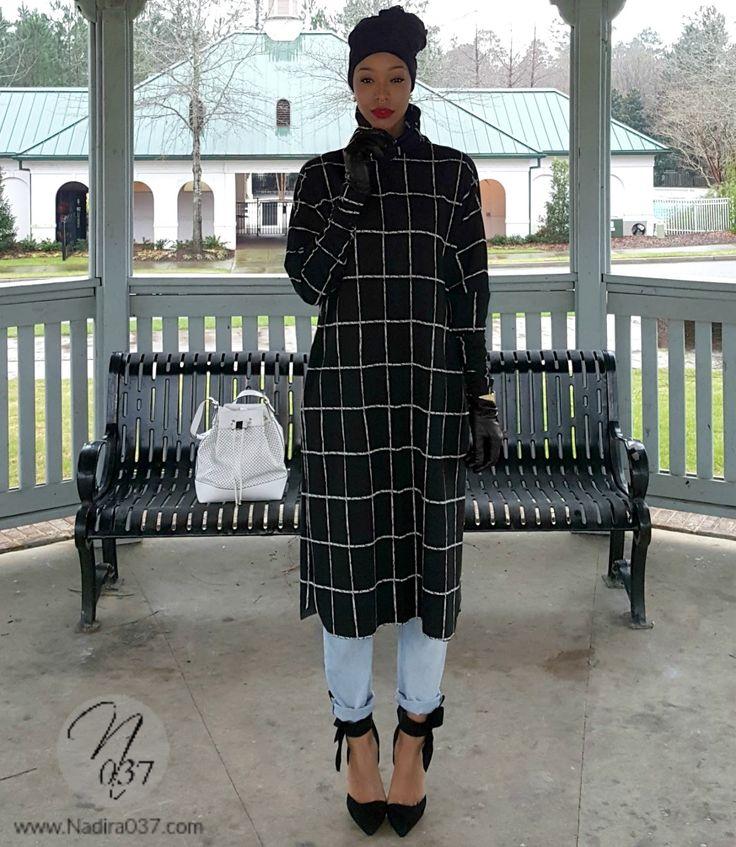 Nadira 037 Diy Turtleneck Sweater Dress