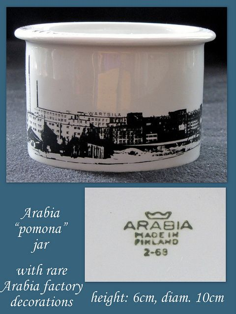 pomona jar with factory decorations